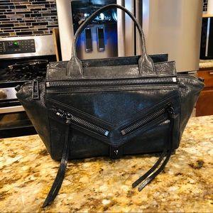 Botkier Distressed Leather Handbag